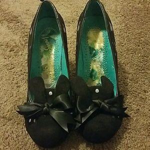 Irregular bunny shoes